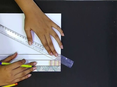 How to make 5 types of borders for project work
