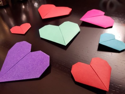How to make a Paper heart?