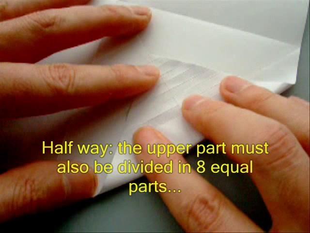 How to make an Origami Leaf Card.