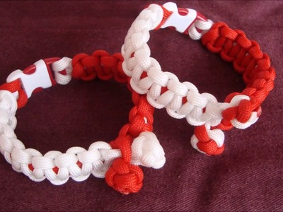 How to make Cobra Weave with Diamond knots on a little different way