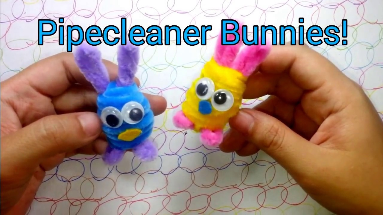 How to Make Pipe Cleaner Bunnies