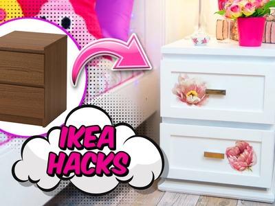 IDEAS FOR ROOM DECOR - Awesome furniture MAKEOVER ikea hacks