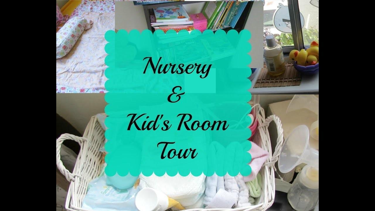 Kids' Room Organization   NRI Rental Apartment Tour   DIY Blanket And Pillow Cover