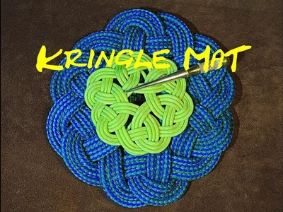 Kringle Mat - How to Make a Kringle Mat with Rope and Paracord