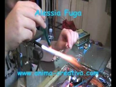 Make glass beads lampwork Fenice