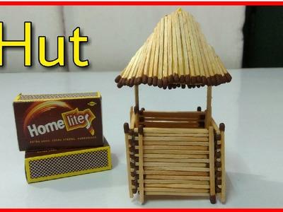 Matchstick Hut New Art and Craft ( matchstick jhopri )