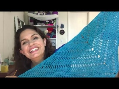 MelodyCrochet Knitting and Crochet Podcast Episode 4 - Humid much?