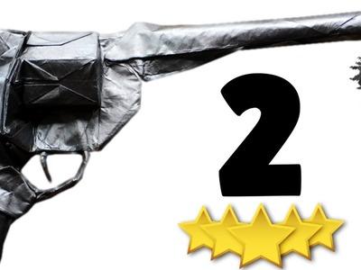 Origami Revolver.Peacemaker Tutorial (Morisue Kei) Part 2.3 - Complex Sinks!!