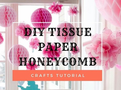 Paper Crafts: How to make a Paper Honeycomb Ball | NEW VERSION  | DIY 2017