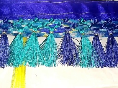 Plain saree kuchu || how to make sarala saree kuchu