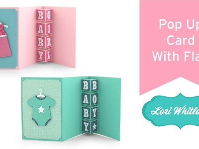 Pop Up Card With Flap