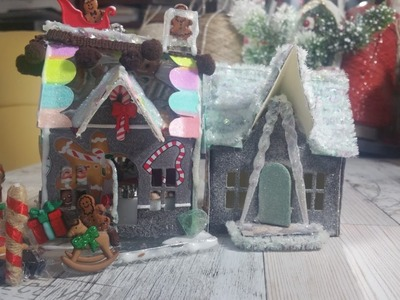 Sizzix Tim Holtz Gingerbread House with glass top roof