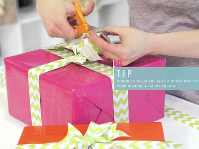 Tie One On With The Gift Wrap Company