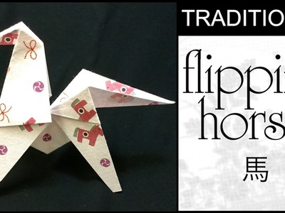 Traditional Origami Flipping Horse Tutorial