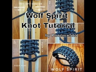 Wolf Spirit - Paracord Knot Tutorial
