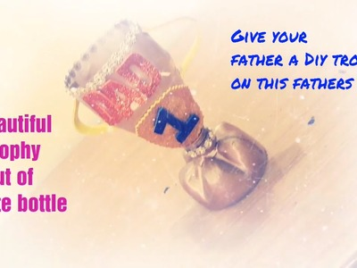 Bottle craft.diy fathers day gift.last minute diy gifts for dad.fathers  gift ideas.easy & quick diy