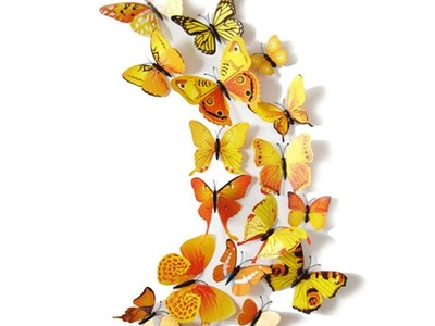 Butterfly Wall Decals For Nursery - Butterfly Wall Decor | Butterfly Wall Decor For Baby Room