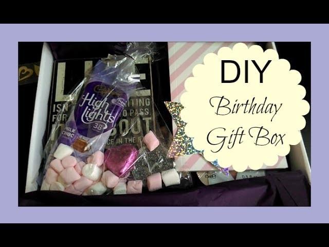 DIY BIRTHDAY GIFT BOX