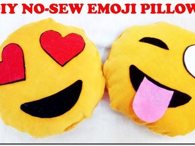 DIY Emoji Pillows | No Sew