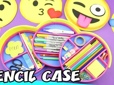 DIY EMOJIS PENCIL CASE - Drop Down and Interchangeable | aPasos Crafts DIY