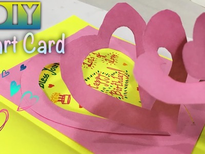 DIY HEART BIRTHDAY CARD I The  Quirky & Chirpy
