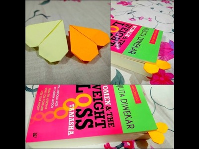 DIY : How to make a bookmark from sticky notes