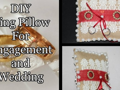 DIY | How To Make | Ring Pillow For Wedding. Engagement | By Neet's Creations