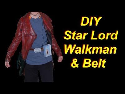 DIY Star Lord Costume: Holster Belt and Walkman