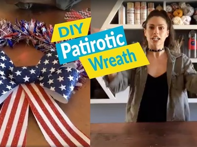 DIY Summer and Patriotic Wreaths