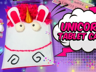 EASY CRAFTS FOR KIDS cute DIY VIRAL UNICORN CASE DESPICABLE ME 3  crazy about DIY