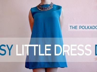 Easy Little Dress DIY | 4 Steps