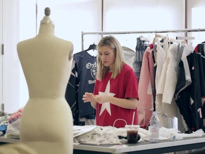 Fashion Senior Addresses the Concept of Fast Fashion in Final Thesis Collection
