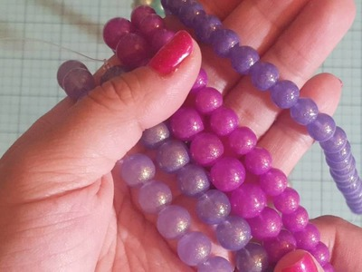 Gorgeous beads from Dollarbead.com haul! Thanks Tara!