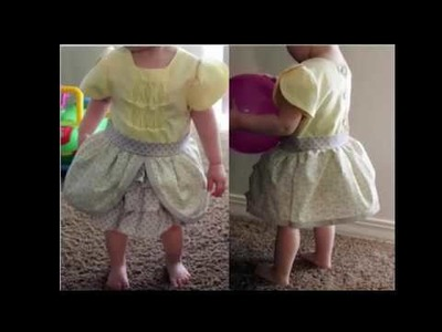 How to Cut & Stitch Simple and Stylish Baby dress | Easy Baby dress Pattern