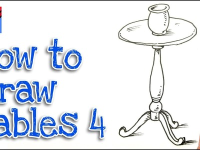 How to Draw a RoundTable Real Easy - Step by Step #4
