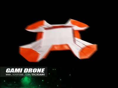 How to make an Origami Drone that Flies Back to You | Gami Drone