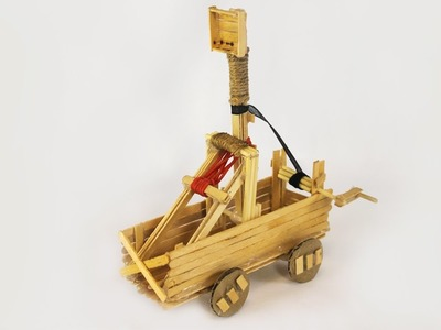 HOW TO MAKE CATAPULT (DIY)