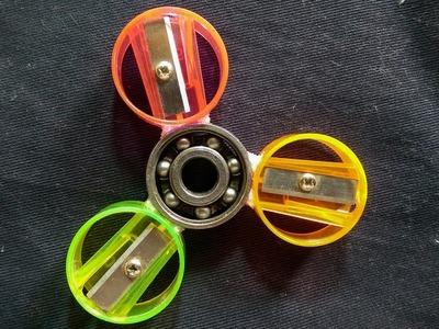 How To Make Fidget Spinner with pencil sharpener   pencil sharpener Hacks