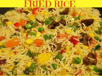 How to Make Fried Rice | Nigerian Fried Rice