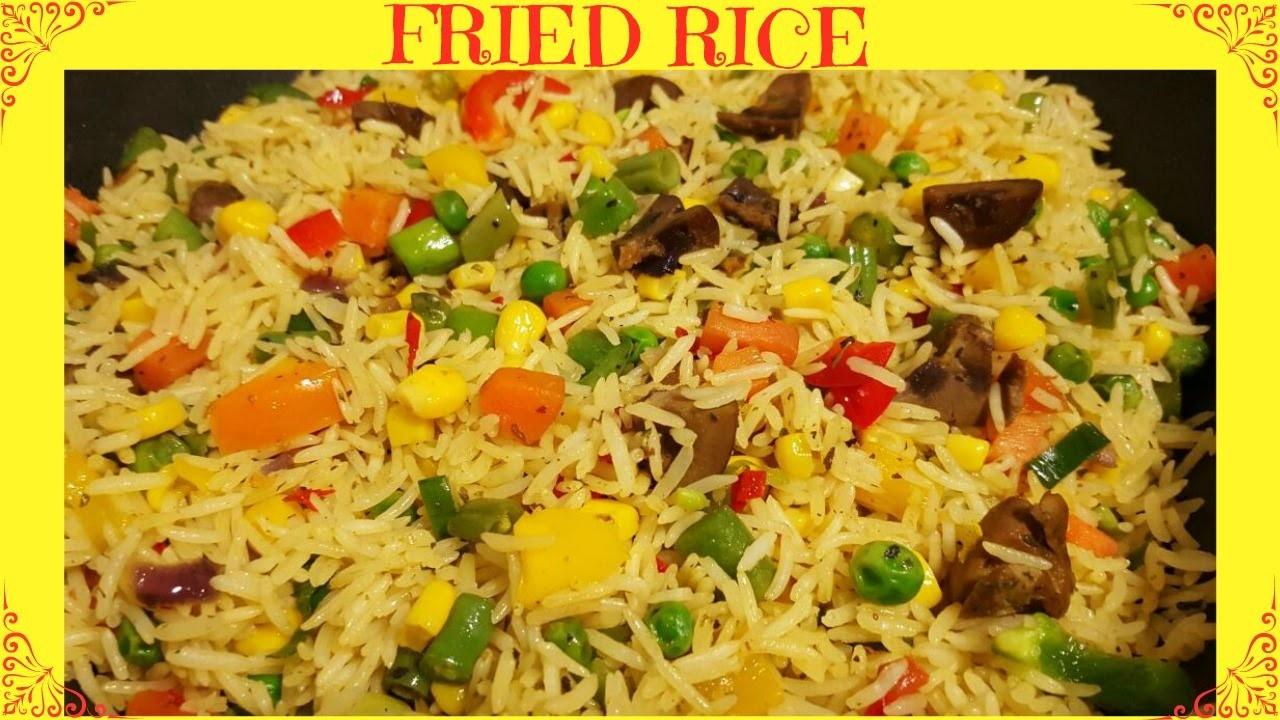 How to Make Fried Rice   Nigerian Fried Rice