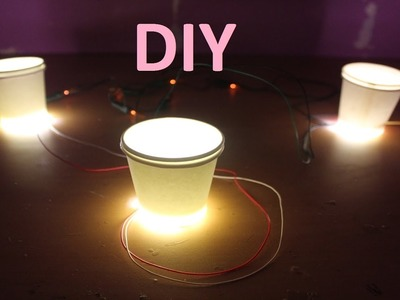 How To Make Night Lamp Light