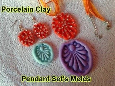 How to make pendant set with molds