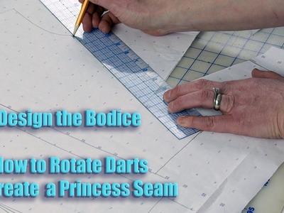 How To Rotate the Bust Dart to Make Princess Seams