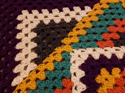 Kaleidoscope Granny Square Blanket Crochet Along (pt. 3.5A)