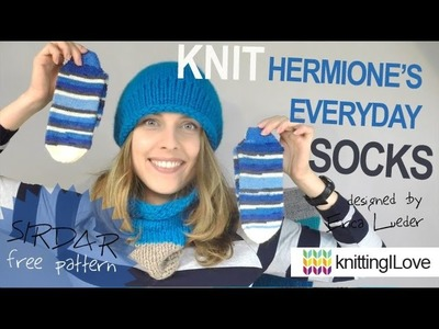Knit Hermione's Everyday SOCKS - sirdar 0164 | knittingILove
