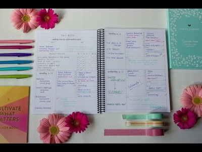 Looking Inside the Organized Life Planner - Full Size, Printed Version