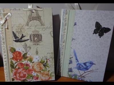 ~ Notepad holder booklet ~ DIY
