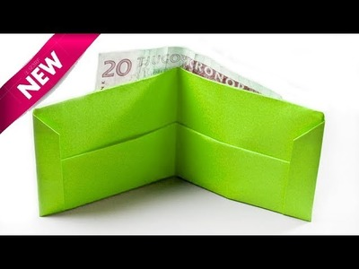 Origami Wallet - How to Make a Paper Wallet - Paper craft-Origami Purse | Easy Origami Instructions.