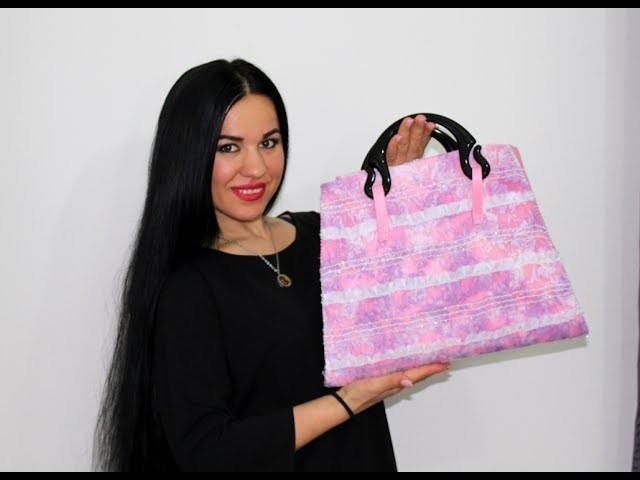 TUTORIAL.DIY How to make a bag handmade.Come fare una BORSA fatta a mano 100%