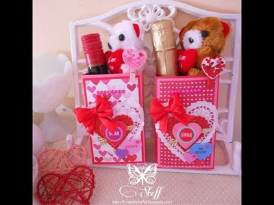 Valentine's Day Treat Boxes| TUTORIAL